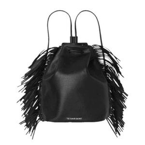 Handbags - Victoria Secret Fringe Backpack